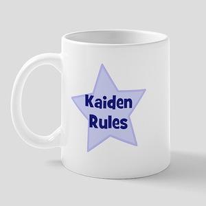 Kaiden Rules Mug