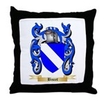 Biscet Throw Pillow