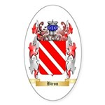 Biron Sticker (Oval 50 pk)