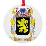 Birnzweig Round Ornament