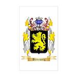 Birnzweig Sticker (Rectangle)