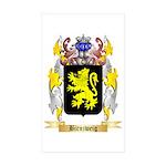 Birnzweig Sticker (Rectangle 50 pk)