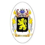 Birnzweig Sticker (Oval)