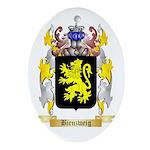 Birnzweig Ornament (Oval)