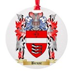 Birnye Round Ornament