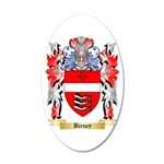 Birney 20x12 Oval Wall Decal
