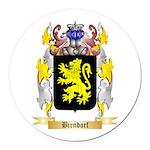 Birndorf Round Car Magnet