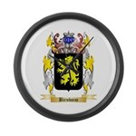 Birnboim Large Wall Clock