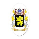 Birnbach Oval Car Magnet