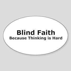 Blind Faith Rectangle Sticker
