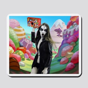 Goth Girl In Candyland 001 Mousepad