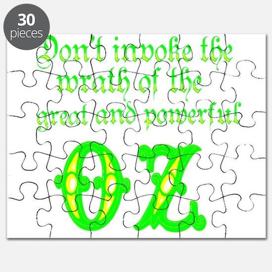 wrath of oz Puzzle