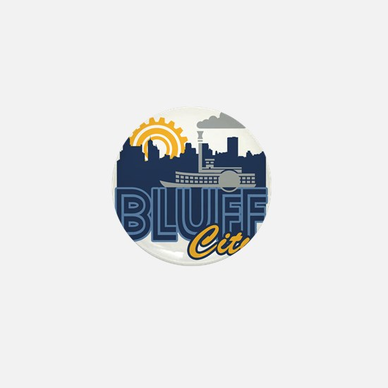 Bluff City Mini Button