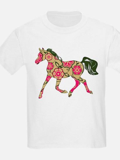 Floral Horse T-Shirt