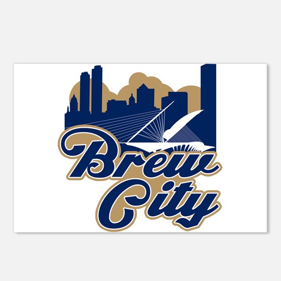 Brew City Postcards (Package of 8)