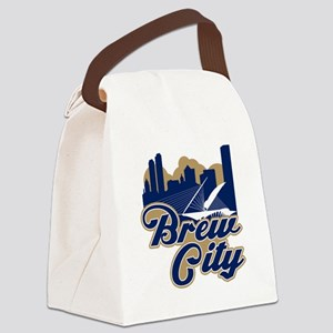 Brew City Canvas Lunch Bag