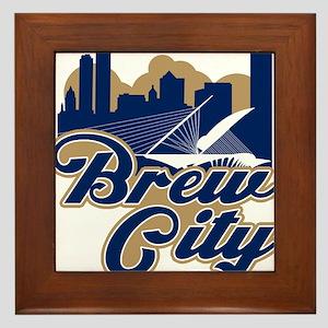 Brew City Framed Tile