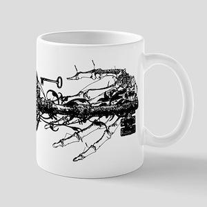 Key And Skeleton Hand Mug