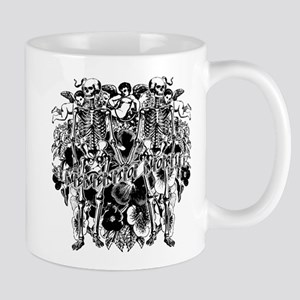 Memento Mori Collage Mug