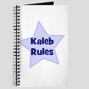 Kaleb Rules Journal