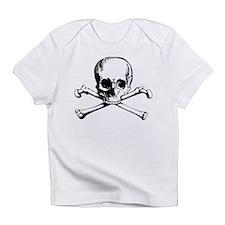 Classic Skull And Crossbones Infant T-Shirt