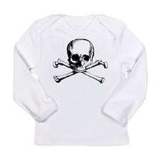 Classic Skull And Crossbones Long Sleeve Infant T-