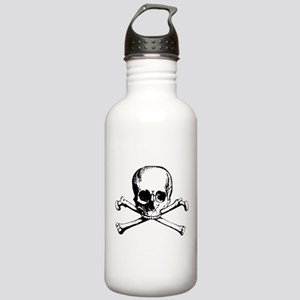 Classic Skull And Crossbones Stainless Water Bottl