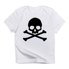 Simple Skull And Crossbones Infant T-Shirt