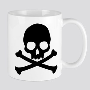 Simple Skull And Crossbones Mug