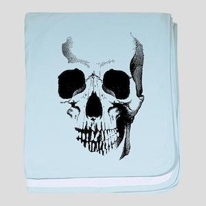 Skull Face baby blanket