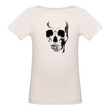 Skull Face Organic Baby T-Shirt