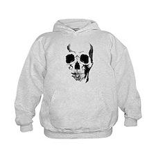Skull Face Kids Hoodie