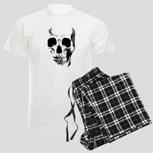 Skull Face Men's Light Pajamas