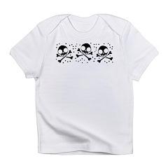 Cute Skulls And Crossbones Infant T-Shirt