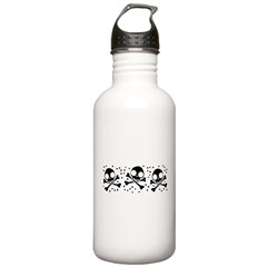 Cute Skulls And Crossbones Stainless Water Bottle