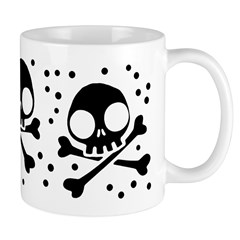 Cute Skulls And Crossbones Mug