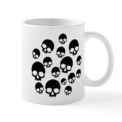 Random Skull Pattern Mug