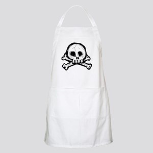 Scribbly Skull And Crossbones Apron