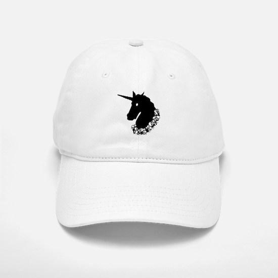 Gothic Unicorn Baseball Baseball Cap