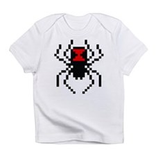 Pixel Black Widow Spider Infant T-Shirt