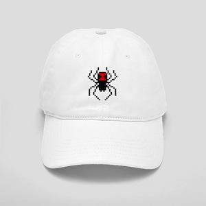 Pixel Black Widow Spider Cap