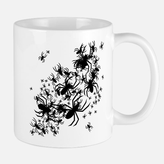 Lots Of Spiders Mug