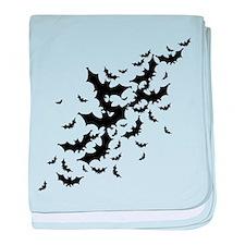 Lots Of Bats baby blanket