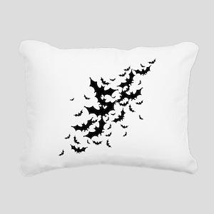 Lots Of Bats Rectangular Canvas Pillow