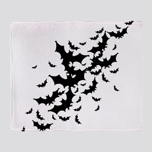 Lots Of Bats Throw Blanket