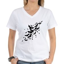 Lots Of Bats Women's V-Neck T-Shirt