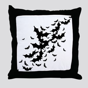 Lots Of Bats Throw Pillow