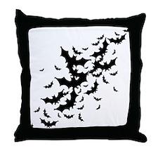 Lots Of Bats Throw Pillow