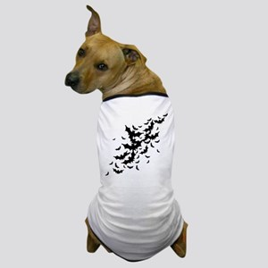 Lots Of Bats Dog T-Shirt