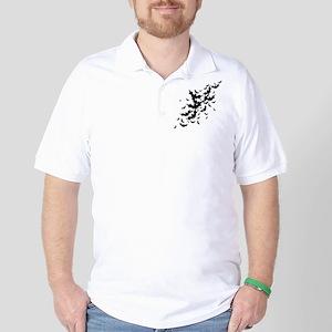 Lots Of Bats Golf Shirt